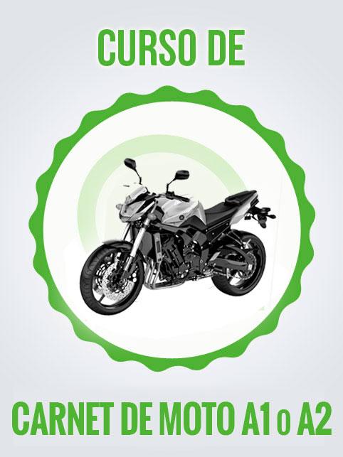 Curso carnet de moto A1 o A2