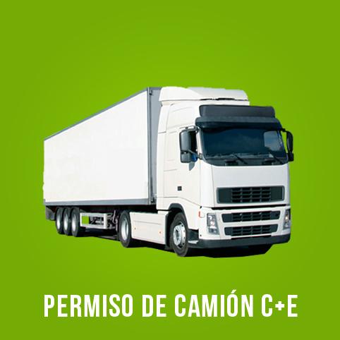 Oferta carnet de Camión con remolque Las Rozas