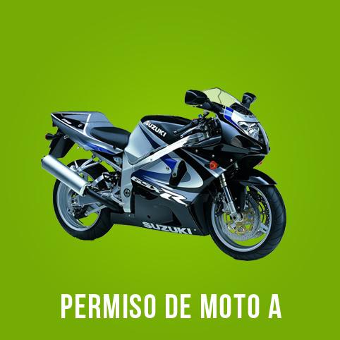 Oferta carnet de moto A Pozuelo