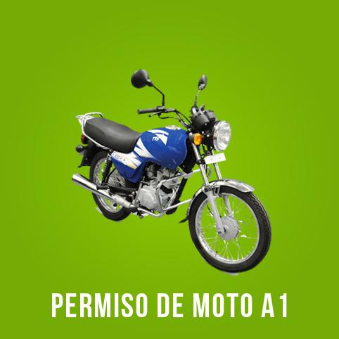 Oferta carnet de moto A1 Pozuelo