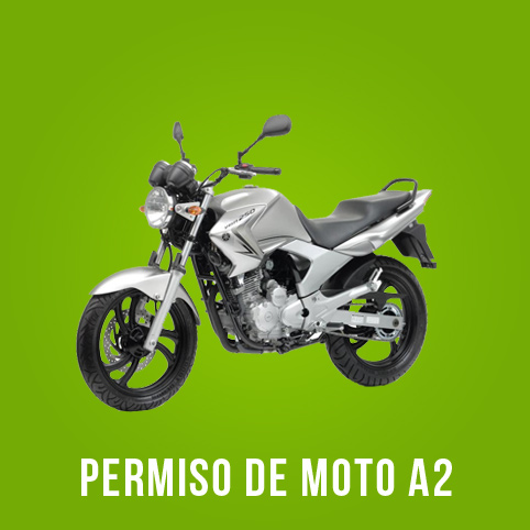 Oferta carnet de moto A2 Pozuelo